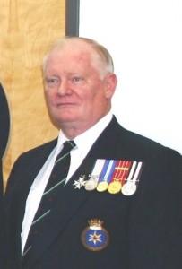 Cdr Alaric Woodrow